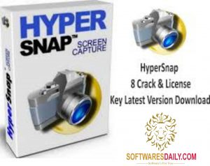 HyperSnap 8 Crack & License Key Latest Version Download