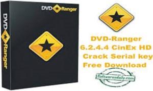 DVD-Ranger 6.2.4.4 CinEx HD Crack Serial key Free Download