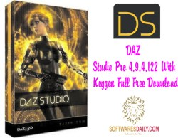 DAZ Studio Pro 4.9.4.122 With Keygen Full Free Download