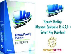 Remote Desktop Manager Enterprise 12.6.4.0 + Serial Key Download