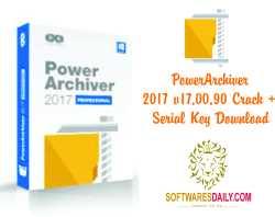 PowerArchiver 2017 v17.00.90 Crack + Serial Key Download