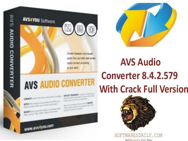AVS Audio Converter 8.4.2.579 With Crack Full Version