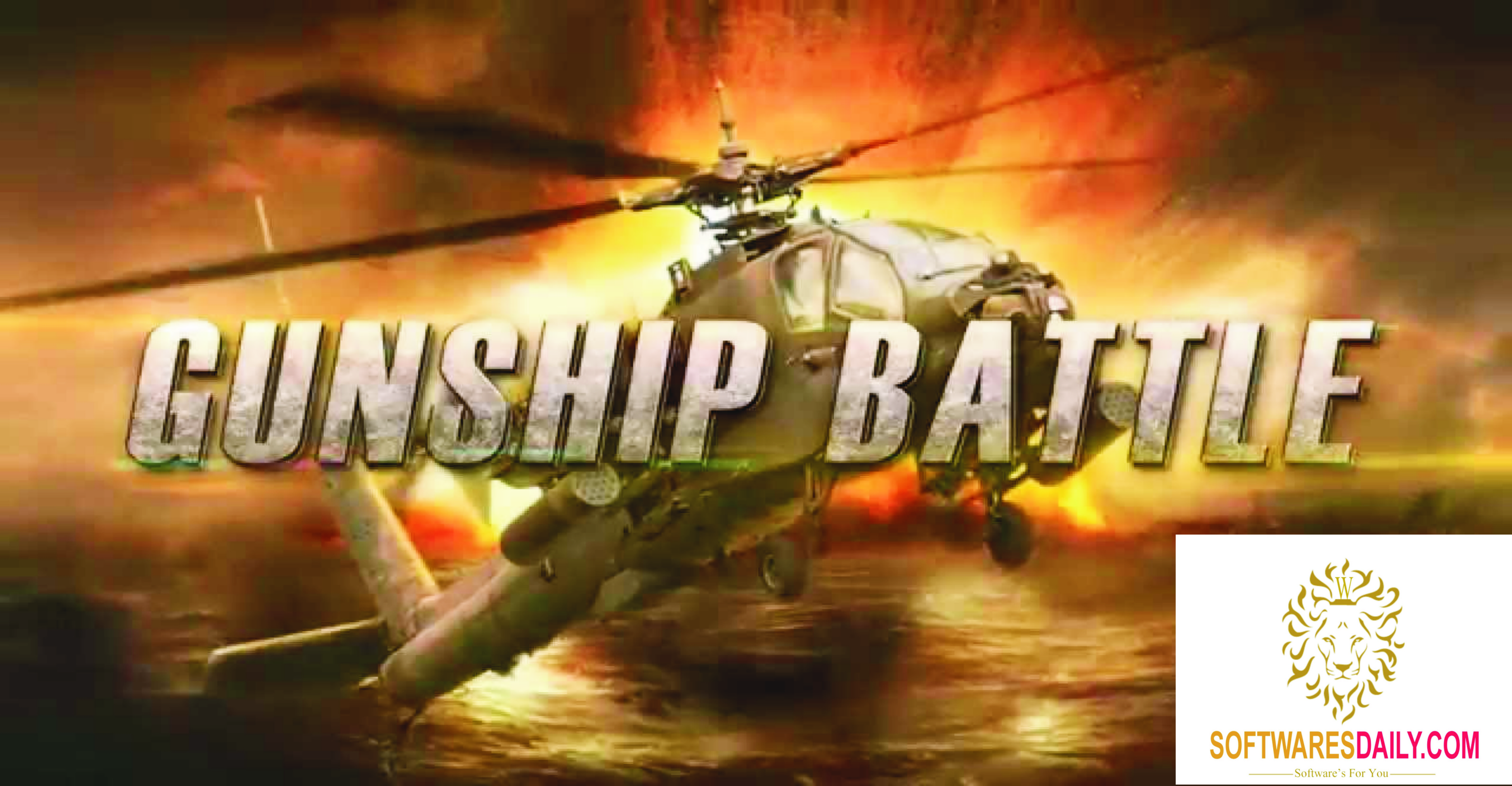 Gunship Battle Helicopter 3D 2.5.60 APK For Android Free Download