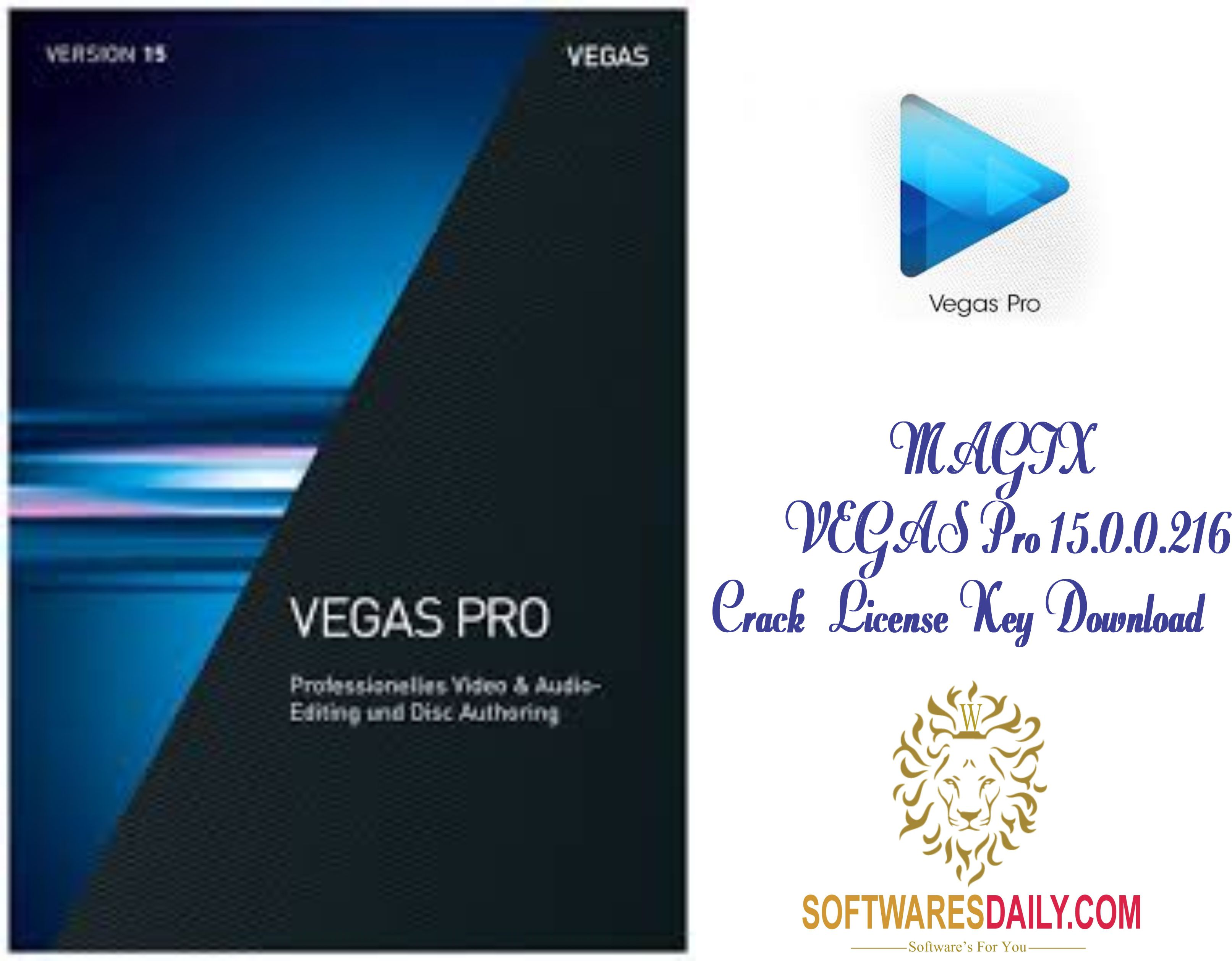 MAGIX VEGAS Pro 15 0 0 416 license key