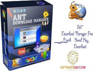 Ant Download Manager Pro 1.6.3 Crack & Serial Key Download