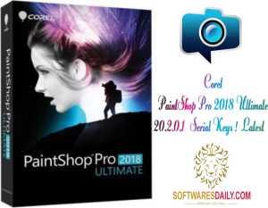 Corel PaintShop Pro 2018 Ultimate 20.2.0.1 + Serial Keys ! [Latest]