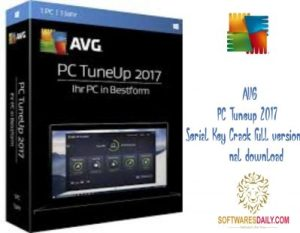 AVG PC Tuneup 2017 Serial Key Crack full version final download