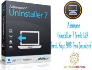 Ashampoo UnInstaller 7 Crack With Serial Keys 2018 Free Download`