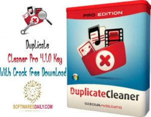 Duplicate Cleaner Pro 4.1.0 Key With Crack Free Download