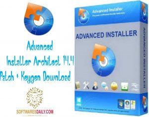 Advanced Installer Architect 14.4 Patch + Keygen Download