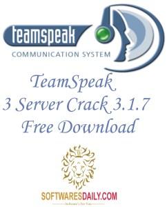 TeamSpeak 3 Server Crack 3.1.7 Free Download