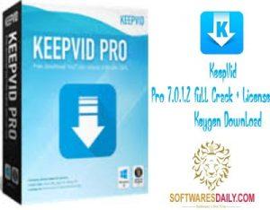 KeepVid Pro 7.0.1.2 Full Crack + License Keygen Download