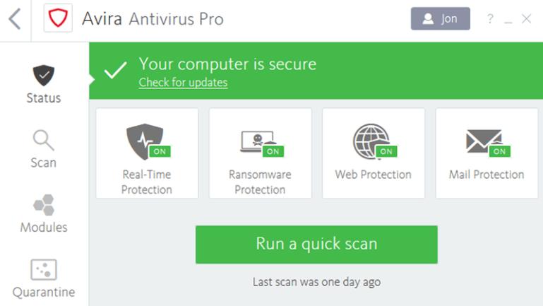 Avira Antivirus Security 2019 5.8.0 Crack