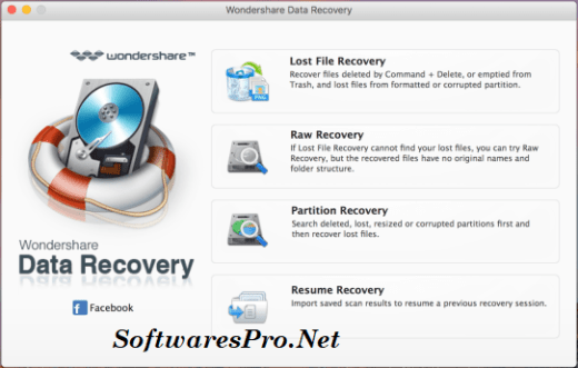 Wondershare Data Recovery Key