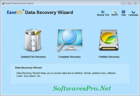 EaseUS Data Recovery Wizard 12.0 Crack