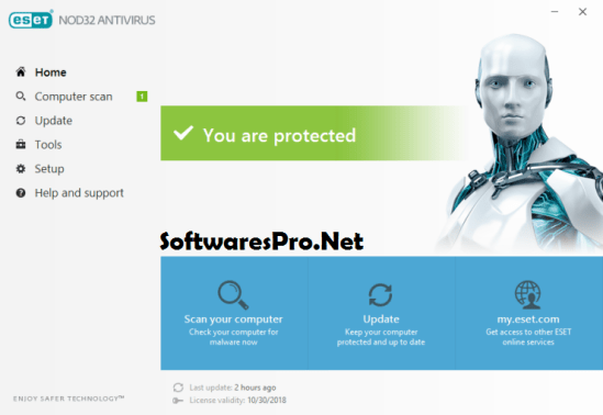 ESET NOD32 Antivirus 11 License Key
