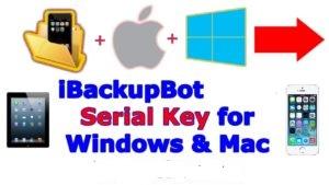 iBackupBot Licesne Key