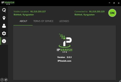 IPVanish Username and Password