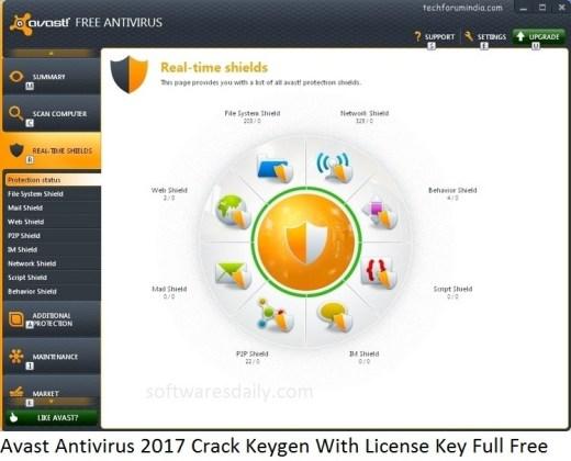 avast free antivirus license key