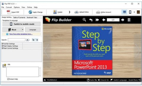 FlipBuilder Flip PDF Professional Registration Code