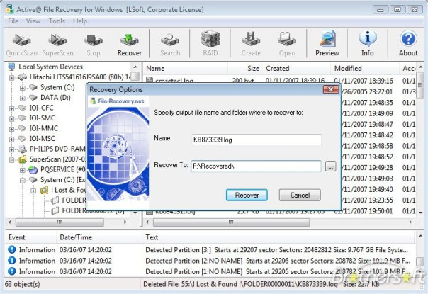 Active@ File Recovery Serial Key