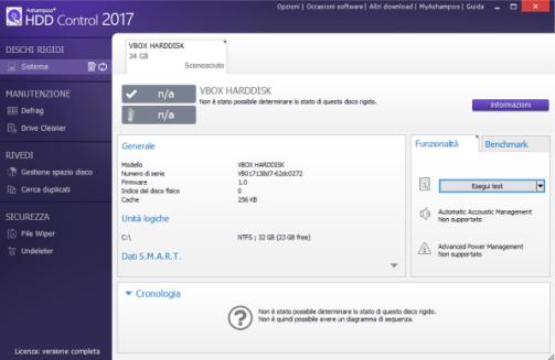 Ashampoo HDD Control Serial Key