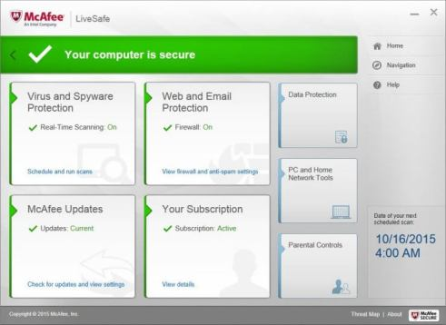 McAfee Internet Security Crack Serial Key