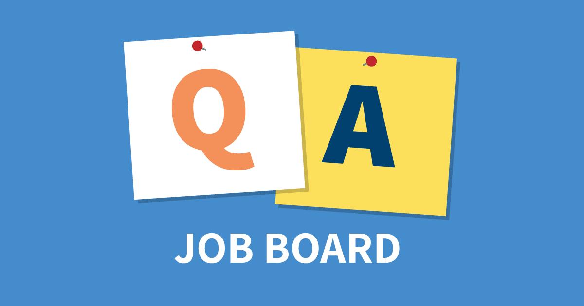 QA Job Board  Software Testing Job Listings