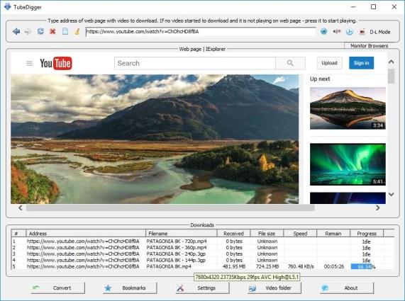 TubeDigger 5.7.2 Crack + MAC + Activation Key Free Download