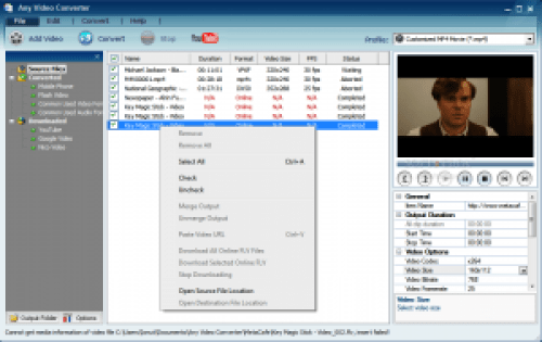Any Video Converter 6.2.3 Ultimate Crack + Serial Key Free Download