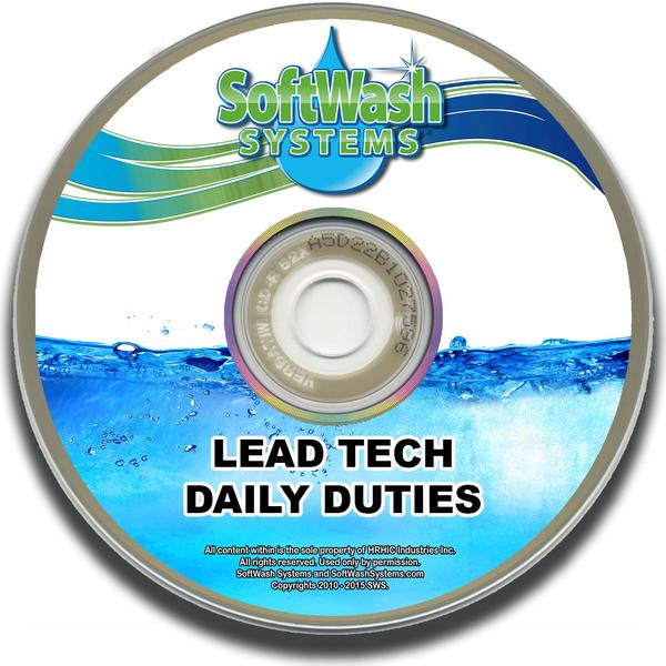 Lead Tech Daily Duties