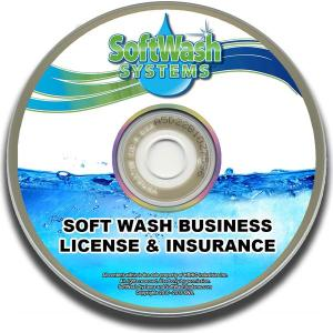 Softwash Business License and Insurance