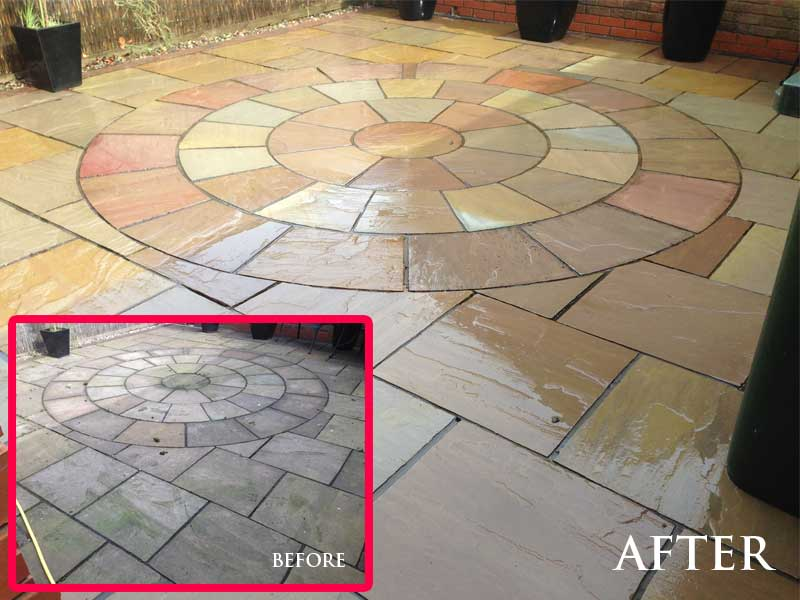 www.softwashscotland.com Patio Cleaning Livingston West Lothian