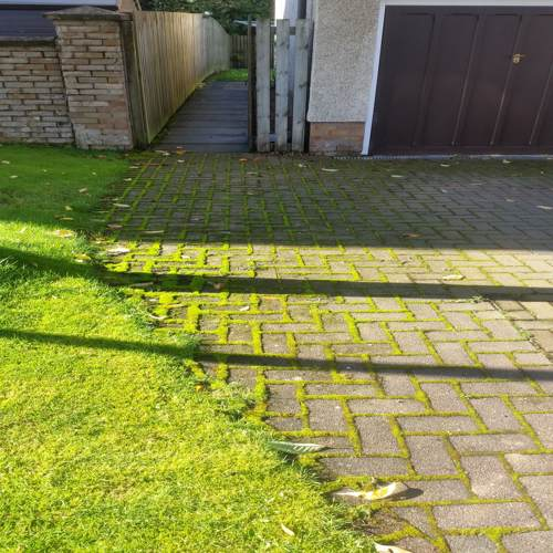 DRIVEWAY CLEANING BATHGATE