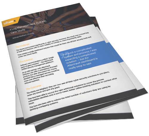 Preview of log management in the charities sector case study