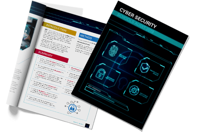 NCSC Cyber Security Review Schools Cover