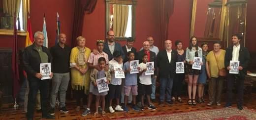 Recepción de los niños y niñas Saharauis en Santiago