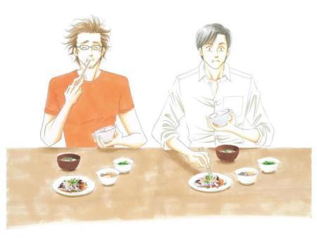 真‧大叔BL劇 男同志的美食日常《昨日的美食》春天播放   So Gay HK