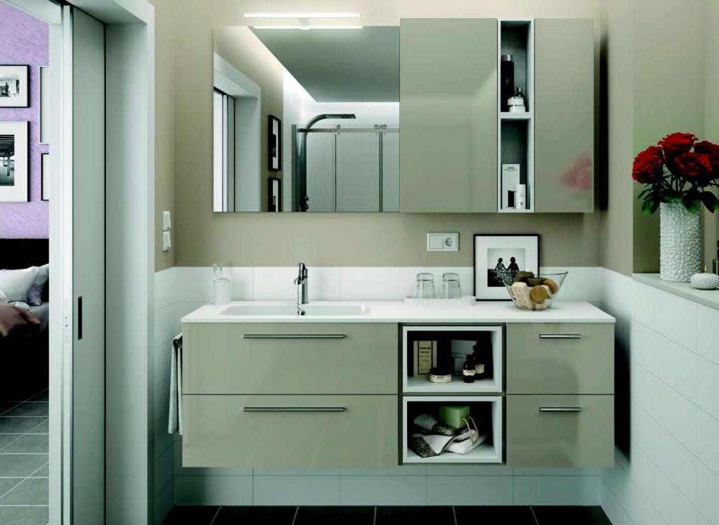 meuble et salle de bain moderne a