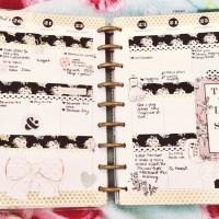 Week 25 Happy Planner Spread: C'est Le Vie