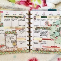 Week 29 Planner Spread: British Summer