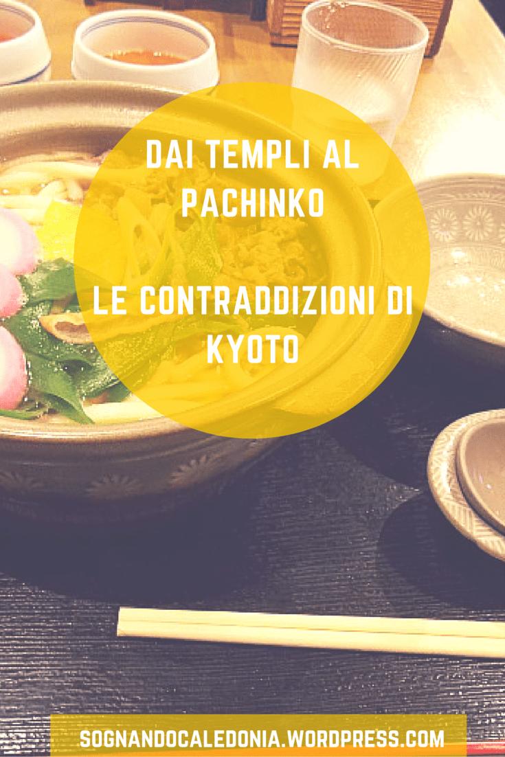 Kyoto è la città della tradizione, dei templi e della cerimonia del the...ma non mancano le sale giochi, le slot machine e i pachinko