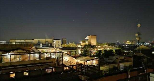 Rooftop bar Roma