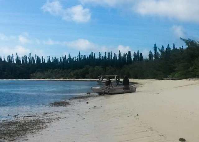 Isola dei Pini spiaggia