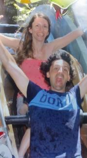 Io ed Enri al Cavallino Matto: divertirsi come bimbi!