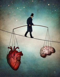 """The Balance of the Heart"" di Christian Schloe"