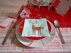 tavola decorata