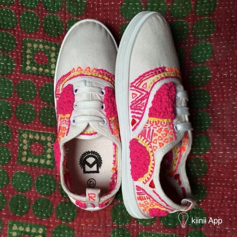 無處安放的色彩 | 手工匠人Liz Payne的刺繡帆布鞋 - 手工客。高質量的手工。藝術。設計原創內容分享平臺