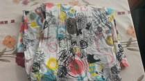 Coton froissé - 140 x 120 cm - 5€