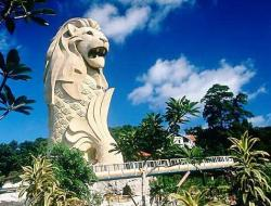 The Merlion Tower Sentosa Island, Singapore